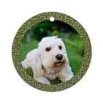 Puzzle Goldendoodle Ornament