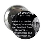 "President George Washington 2.25"" Button (100 pack"