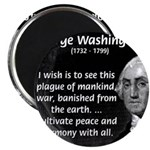"President George Washington 2.25"" Magnet (100 pack"