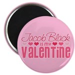 "Jacob Twilight Valentine 2.25"" Magnet (100 pack)"