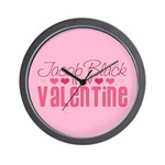 Jacob Twilight Valentine Wall Clock