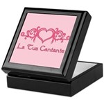 La Tua Cantante Keepsake Box