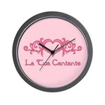 La Tua Cantante Wall Clock