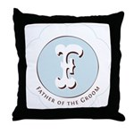 Market Father of the Groom Throw Pillow