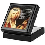 Classical Music: Vivaldi Keepsake Box