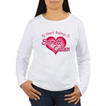 Emmett Cullen Heart Women's Long Sleeve T-Shirt