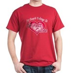 Emmett Cullen Heart Dark T-Shirt