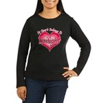Heart Belongs Twilight Women's Long Sleeve Dark T-