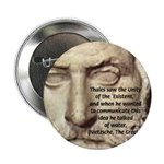 "Greek Philosophy: Thales 2.25"" Button (10 pack)"