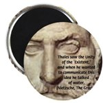 "Greek Philosophy: Thales 2.25"" Magnet (10 pack)"