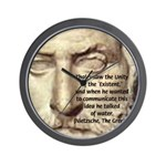 Greek Philosophy: Thales Wall Clock