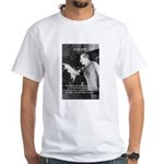 Joseph Stalin Revolution White T-Shirt