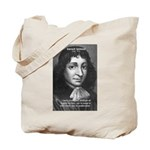 Philosopher Baruch Spinoza Tote Bag