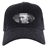 Evolutionist Herbert Spencer Black Cap