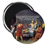 "Truth and Wisdom: Socrates 2.25"" Magnet (100 pack)"