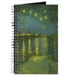 Van Gogh Starry Night Rhone Journal