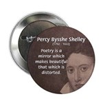 "Romantic Poet Percy Shelley 2.25"" Button (100 pack"