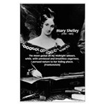 Mary Shelley Frankenstein Large Poster