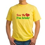 Bite Me Emmett Yellow T-Shirt