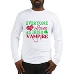 Irish Vampire Twilight Long Sleeve T-Shirt