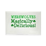 Werewolves Delicious Rectangle Magnet (100 pack)