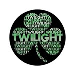 "Twilight Shamrock 3.5"" Button (100 pack)"