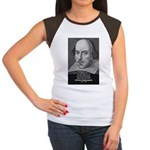 William Shakespeare Women's Cap Sleeve T-Shirt