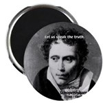 "Schopenhauer Philosophy Truth 2.25"" Magnet (10 pac"