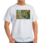 Saint Augustine of Hippo Ash Grey T-Shirt