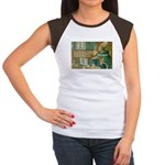 Saint Augustine of Hippo Women's Cap Sleeve T-Shir