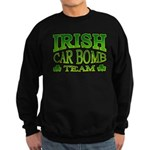 Irish Car Bomb Team Shamrock Sweatshirt (dark)