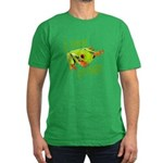 I Like Frogs Men's Fitted T-Shirt (dark)