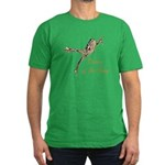 Dance of the Frog Men's Fitted T-Shirt (dark)
