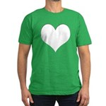 The Heart Zone Men's Fitted T-Shirt (dark)