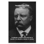 President Theodore Roosevelt Large Poster