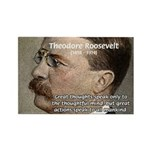 President Theodore Roosevelt Rectangle Magnet (100