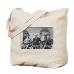 2nd World War: Stalin Roosevelt Churchill Tote Bag