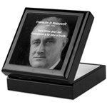 Franklin D. Roosevelt Keepsake Box