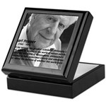 Open Society: Karl Popper Keepsake Box