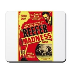 Vintage Reefer Madness Mousepad