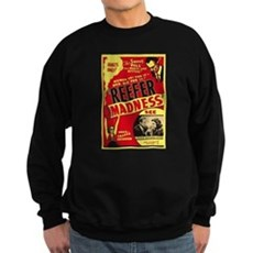 Vintage Reefer Madness Dark Sweatshirt