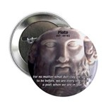 "Dialogues of Plato Poet in Love 2.25"" Button (10 p"