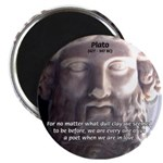 "Dialogues of Plato Poet in Love 2.25"" Magnet (10 p"