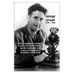 Politics / Language: Orwell Large Poster