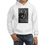 Man and Woman: Nietzsche Hooded Sweatshirt