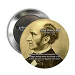 "Utilitarianism John Mill 2.25"" Button (100 pack)"