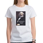 Union of Workers: Marx Women's T-Shirt