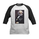 Karl Marx Religion Opiate Masses Kids Baseball Jer