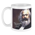 Karl Marx Religion Opiate Masses Mug