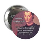 "Political Theory: Machiavelli 2.25"" Button (100 pa"